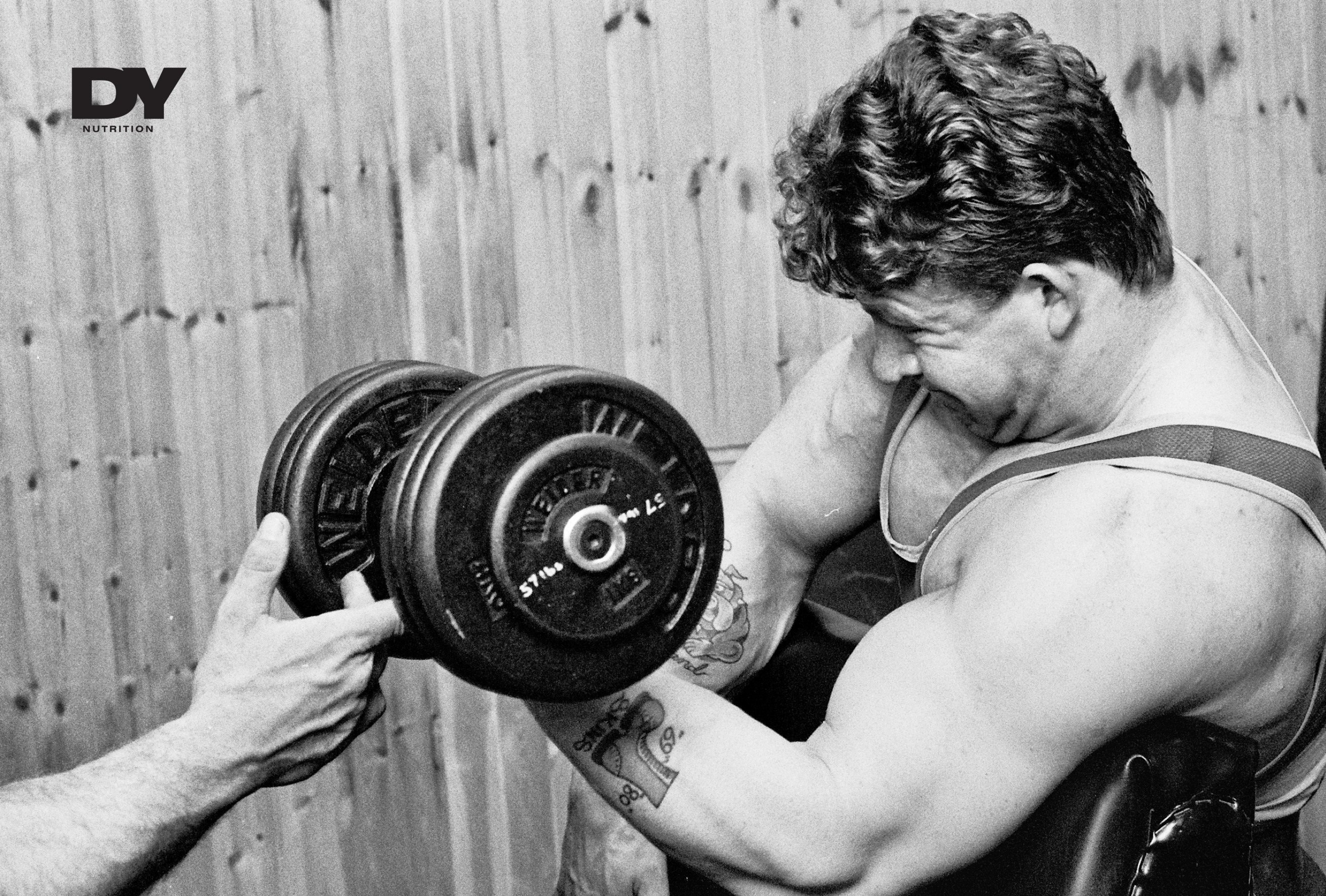 Dorian Yates, The Shadow training. He understood from the very start of his bodybuilding career that nutrition and supplementation goes hand in hand.