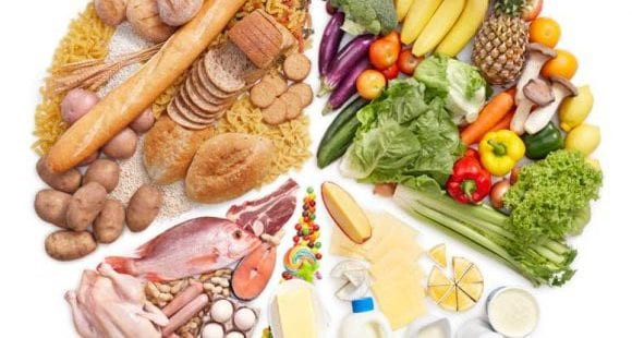 This image was used to show which are the healthy foods.